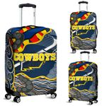 Cowboys Luggage Covers Unique Indigenous K8