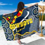 Cowboys Sarong Unique Indigenous K8