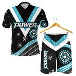 Combo Polo Shirt and Men Short We Are Port Adelaide Power