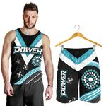 Combo Men Tank Top and Men Short We Are Port Adelaide Power