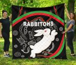 Rabbitohs Premium Quilt Indigenous Mystery Vibes K8