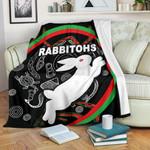 Rabbitohs Premium Blanket Indigenous Mystery Vibes K8