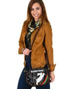 Rabbitohs Leather Saddle Bag Indigenous Mystery Vibes K8