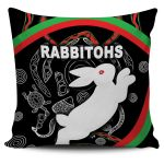 Rabbitohs Pillow Cover Indigenous Mystery Vibes K8