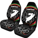 Rabbitohs Car Seat Covers Indigenous Mystery Vibes