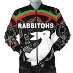 Rabbitohs Men Bomber Jacket Indigenous Mystery Vibes K8