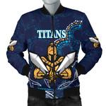 Gold Coast Men Bomber Jacket Titans Gladiator Indigenous K8