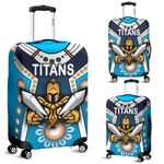 Gold Coast Luggage Covers Titans Gladiator Simple Indigenous