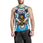 Gold Coast Men's Tank Top Titans Gladiator Simple Indigenous