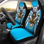 Gold Coast Car Seat Covers Titans Gladiator Simple Indigenous