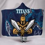 Gold Coast Hooded Blanket Titans Gladiator Indigenous K8