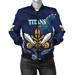 Gold Coast Women Bomber Jacket Titans Gladiator Indigenous K8