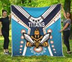 Gold Coast Premium Quilt Titans Gladiator Simple Indigenous