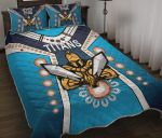 Gold Coast Quilt Bed Set Titans Gladiator Simple Indigenous