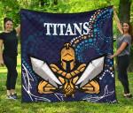 Gold Coast Premium Quilt Titans Gladiator Indigenous K8