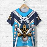 Gold Coast T Shirt Titans Gladiator Simple Indigenous