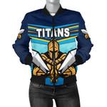 Gold Coast Women's Bomber Jacket Titans Gladiator K8