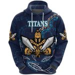 Gold Coast Hoodie Titans Gladiator Indigenous