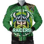 Raiders Men Bomber Jacket Aboriginal TH4