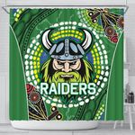 Raiders Shower Curtain Aboriginal TH4