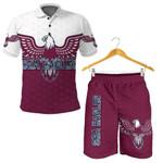 Combo Polo Shirt and Men Short Warringah Sea Eagles