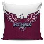 Warringah Pillow Cover Sea Eagles K8