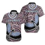 Warringah Hawaiian Shirt Sea Eagles Indigenous
