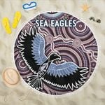 Warringah Beach Blanket Sea Eagles Indigenous K8