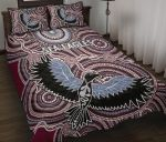Warringah Quilt Bed Set Sea Eagles Indigenous K8