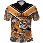 Wests Polo Shirt Tigers Indigenous
