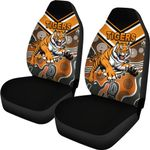 Wests Car Seat Covers Tigers Indigenous K8