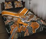 Wests Quilt Bed Set Tigers Indigenous K8