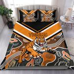 Wests Bedding Set Tigers Indigenous K8