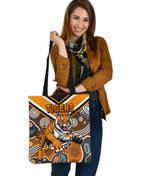 Wests Tote Bag Tigers Indigenous K8