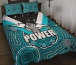 Port Adelaide Quilt Bed Set Power