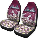 Sea Eagles Car Seat Covers Special Indigenous | 1st New Zealand