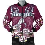 Sea Eagles Men Bomber Jacket Special Indigenous | 1st New Zealand