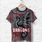 St. George Dragons T Shirt Unique Indigenous
