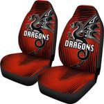 St. George Dragons Car Seat Covers Unique