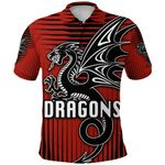 St. George Dragons Polo Shirt Unique