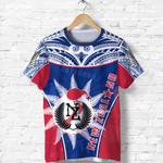 New Zealand T Shirt Fern Circle With Maori Kiwi Front | 1st New Zealand