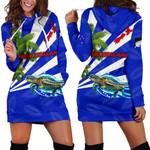 New Zealand Women Hoodie Dress Light Ray Version K12