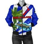 New Zealand Women Bomber Jacket Light Ray Version K12