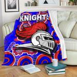 Newcastle Knights Premium Blanket Indigenous