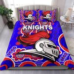 Newcastle Knights Bedding Set Indigenous