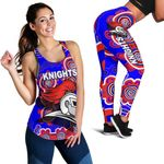 Combo Racerback Tank and Legging Newcastle Knights Indigenous