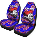 Newcastle Knights Car Seat Covers Indigenous