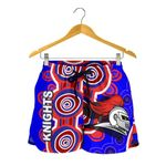 Newcastle Knights Women Shorts Indigenous
