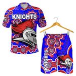 Combo Polo Shirt and Men Short Newcastle Knights Indigenous