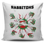 Rabbitohs Indigenous Pillow Cover Animals Aboriginal TH5
